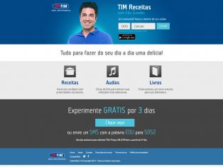 Tim Receitas com Edu Guedes