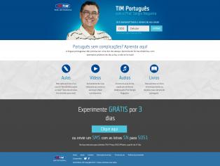 Tim Português com o Prof. Sérgio Nogueira